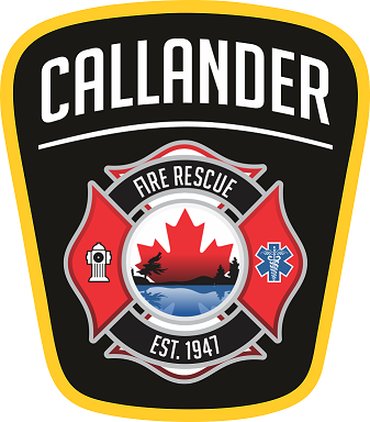 Letter from Callander's Fire Chief Todd Daley