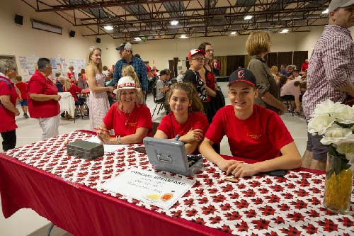 Celebrating Canada Day during FunFest 2019: Pancake breakfast